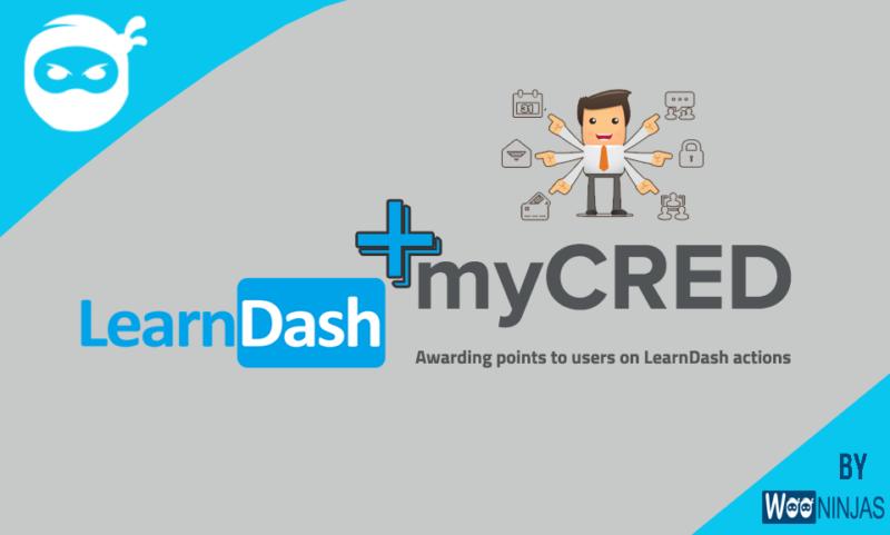 LearnDash myCRED integration addon