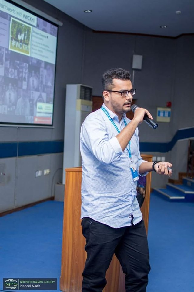 Adeel Raza: Speaker WordCamp2019 at NED University