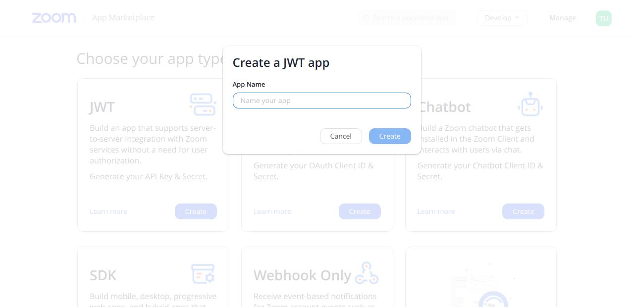 WordPress Zoom addon API Keys step3
