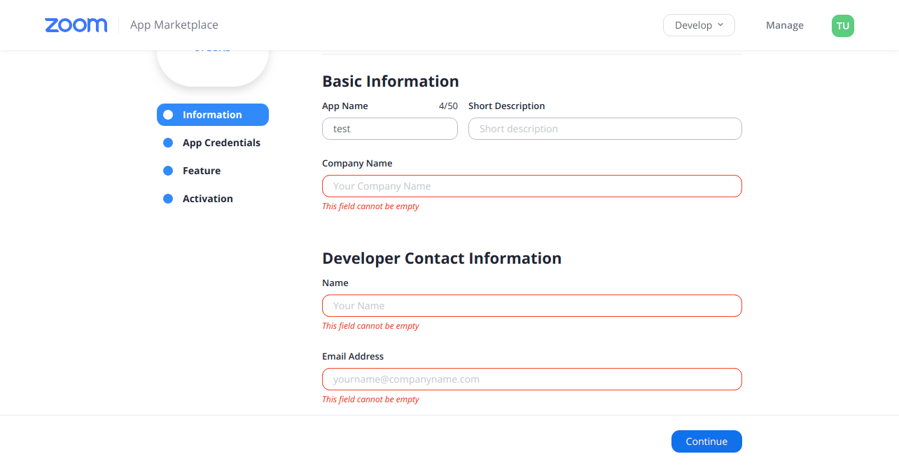 WordPress Zoom addon API Keys step4