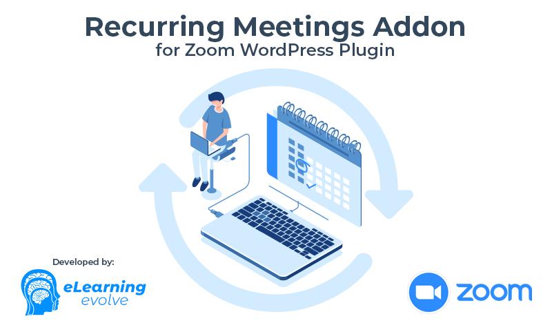 Zoom WP Recurring Meetings Addon
